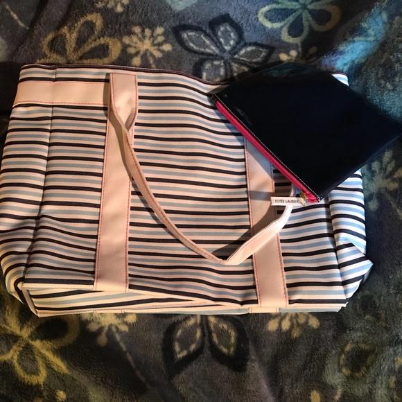 Estee Lauder Handbags - 👜Estée Lauder bag and makeup purse👜